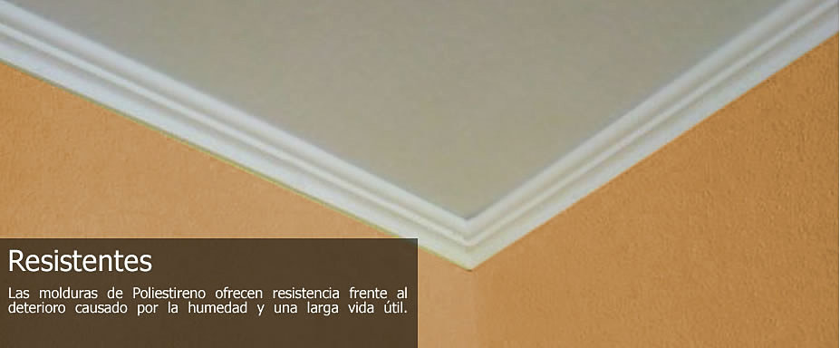 Molduras de poliestireno extruido - Molduras techo poliestireno ...