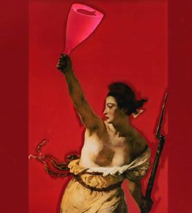 Liberty Guiding the Women