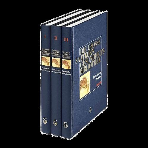 Die große Saatkorn Gesundheitsbibliothek - Heilkräfte der Nahrung Band 1-3 Set