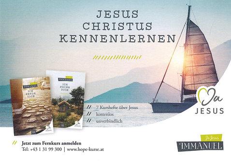 """Fernkurs - Immanuel """"Ja Jesus"""""""