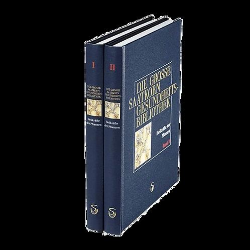 Die große Saatkorn Gesundheitsbibliothek - Heilkräfte der Pflanzen Band 1-2 Set