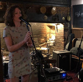 Kerrie performing live at The Greyhound in Wadhurst