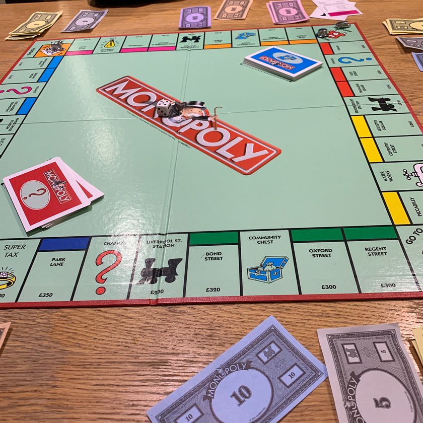 Monopoly - more arguments to come!