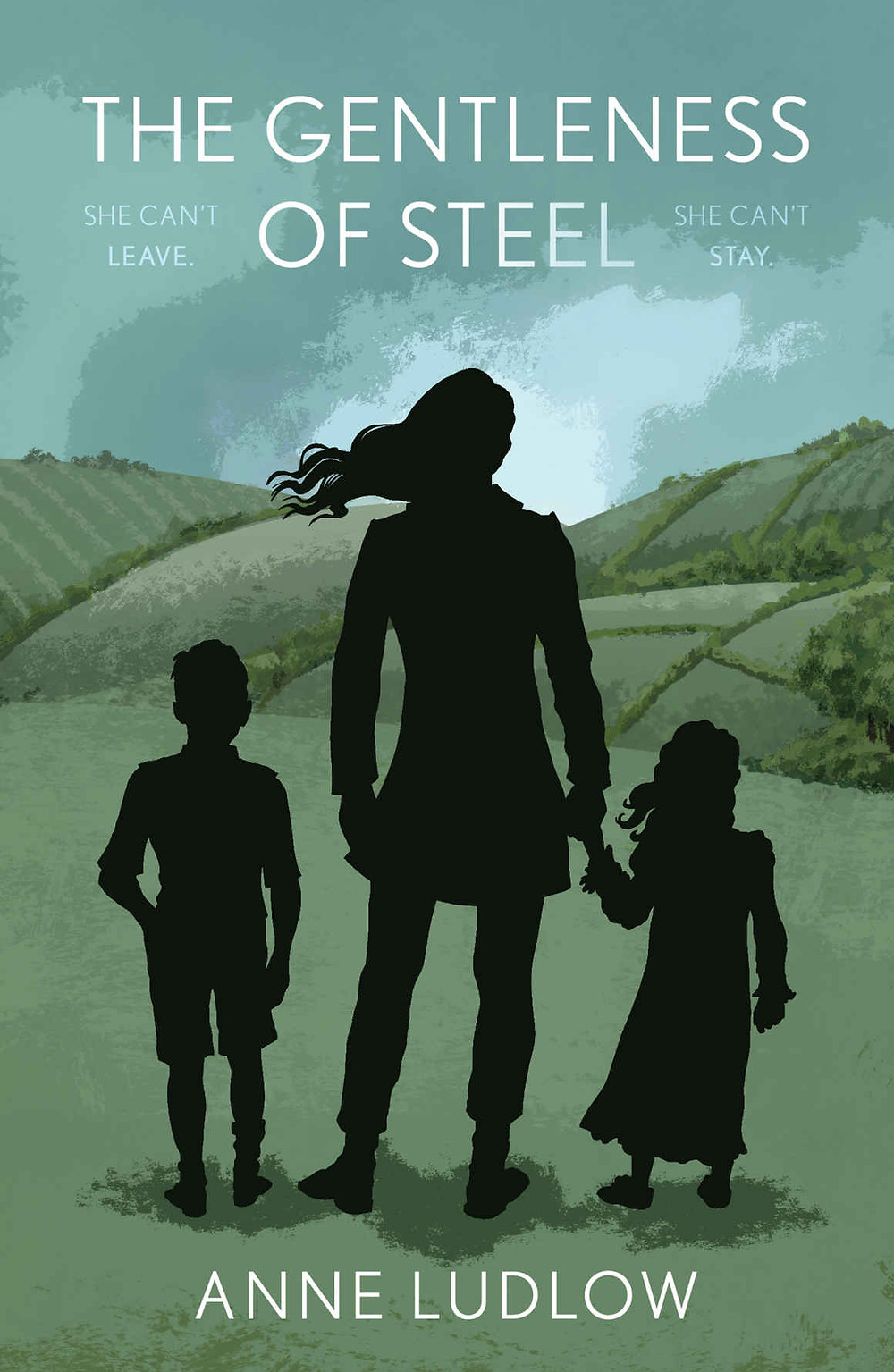 The first novel by Anne Ludlow, The Gentleness Of Steel, a great read!