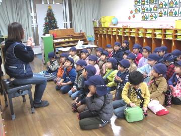 先生が、冬休みの過ごし方をお話しします。