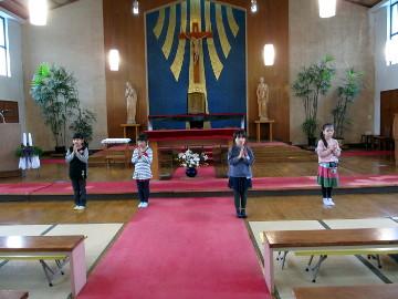 もちろん、聖劇の練習!!