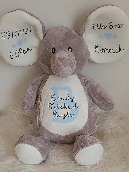 Personalised  Memory Elephant