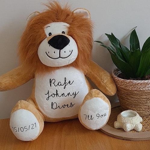 Personalised Memory Lion