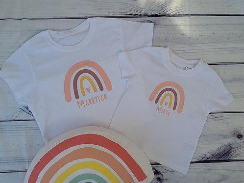 Mama and Mini Rainbow Set