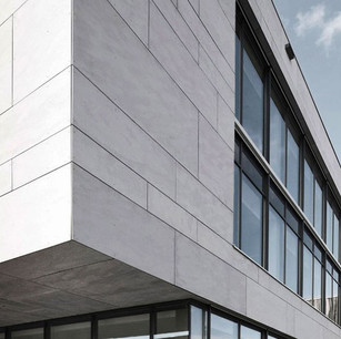 fibre cement facade
