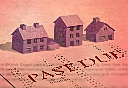 Past dues bills and mortgage foreclosure