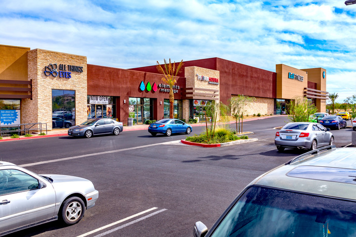 Strip of Stores at KlossCo Properties