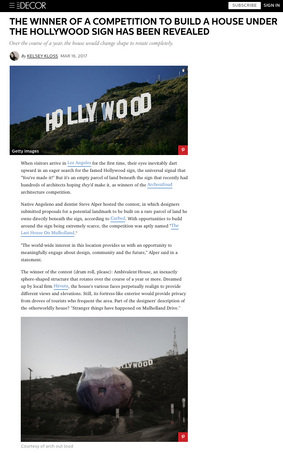 Hollywood House Journalism Clip.png