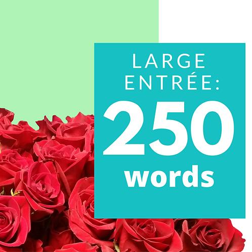 NICEIFY Large Entrée: 250 Words