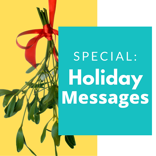 NICEIFY Special: Holiday Messages