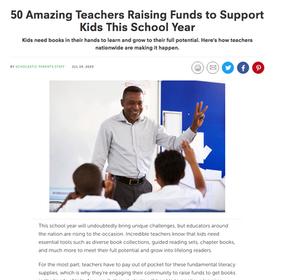 Teachers Raising Funds