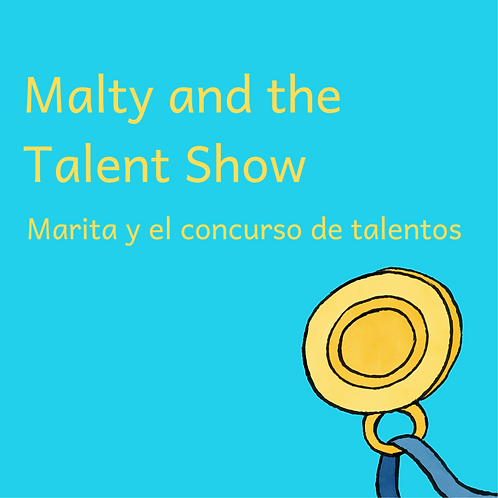 Malty and the Talent Show Bilingual Audiobook (English/Spanish)