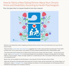 Talking to Dating Partner Journalism Cli