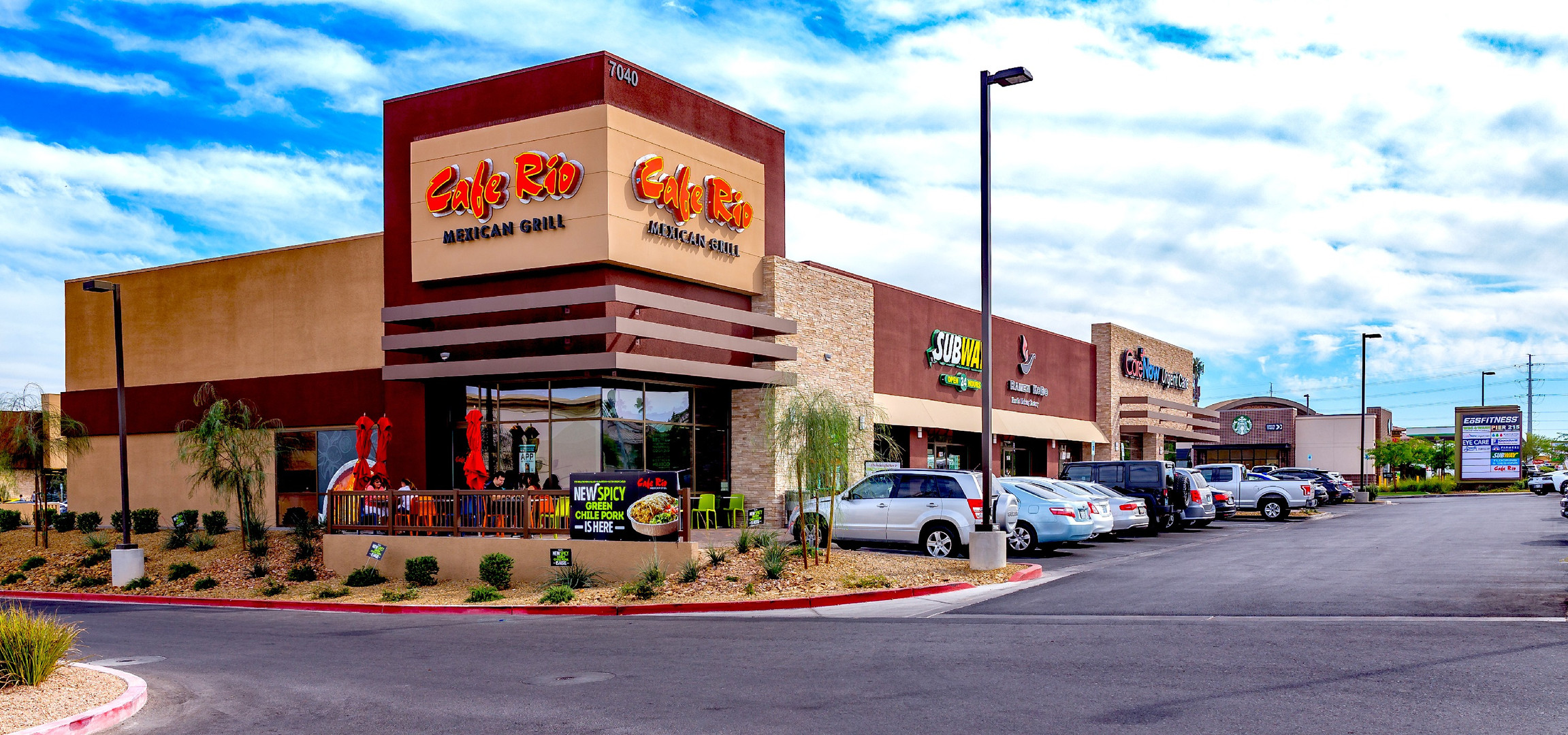 Restaurants and Stores