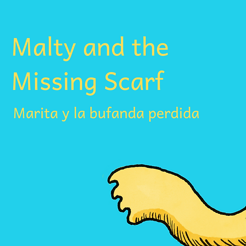 Malty and the Missing Scarf Bilingual Audiobook (English/Spanish)