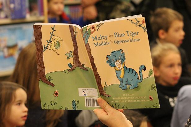 Malty the Blue Tiger Books