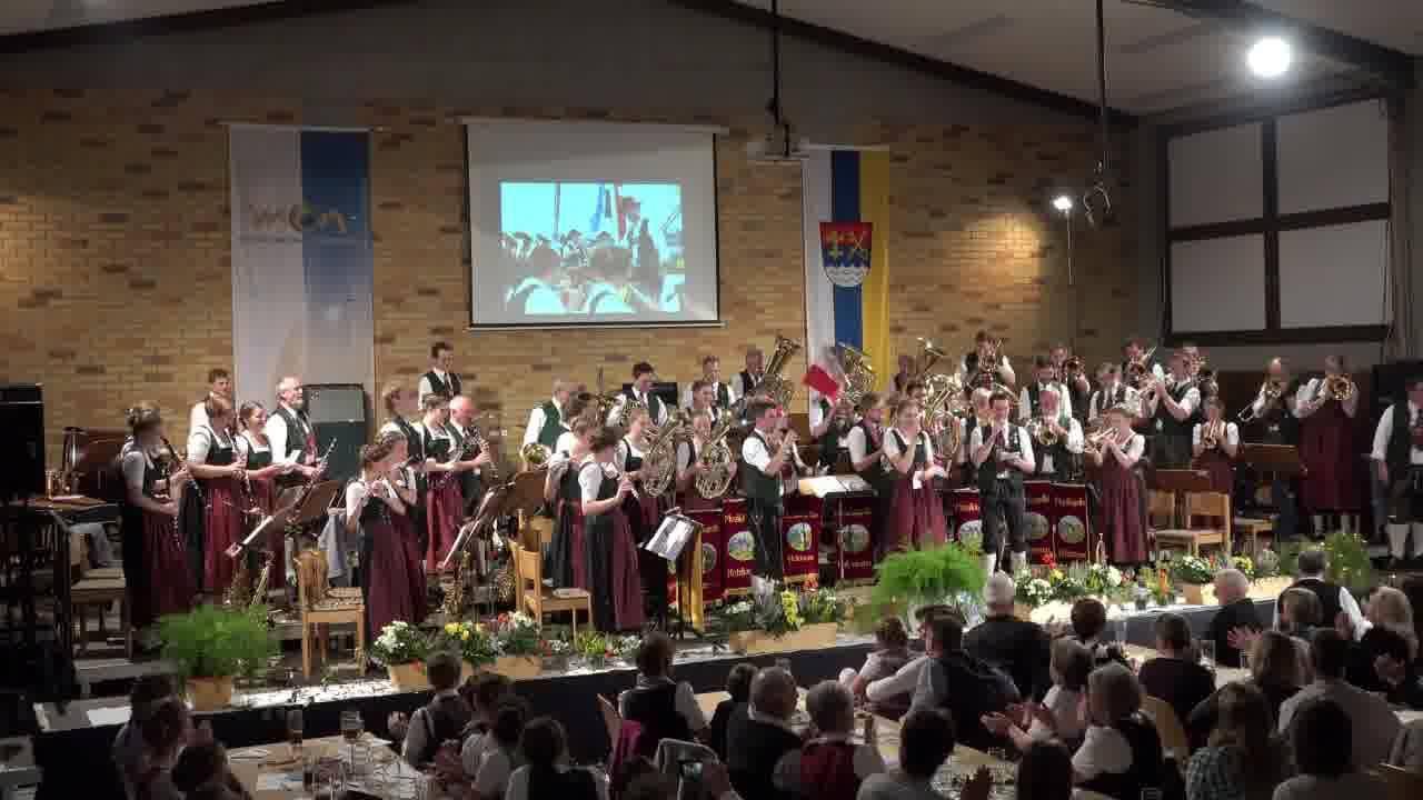 Verabschiedung Bernhard - Neue Dirigentin