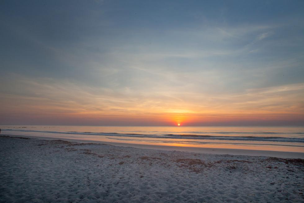 Sunrise over the Atlantic, Cocoa Beach, Florida