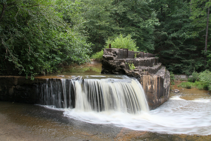 Broken Dam, Cochran Mill Park