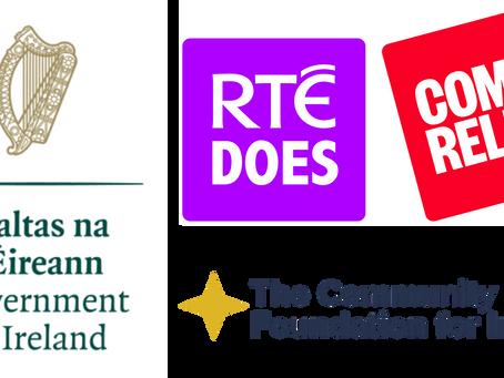 Sophia Awarded RTE Does Comic Relief Funding