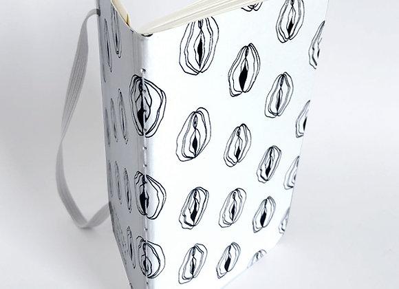 Sketchbook bolso branco Natureza Íntima