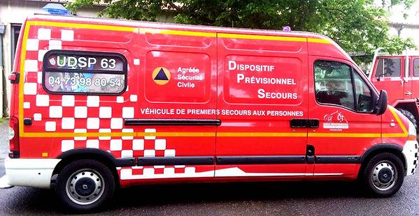 véhicule DPS de l'Udsp 63