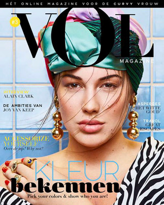 Vol magazine Fotograaf: Martijn Senders Styling: Ashley Veraart Haar: Niki Vos Make-up: Niki Vos
