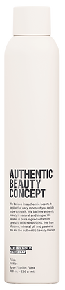 Authentic Beauty Concept Strong Hold Hairspray