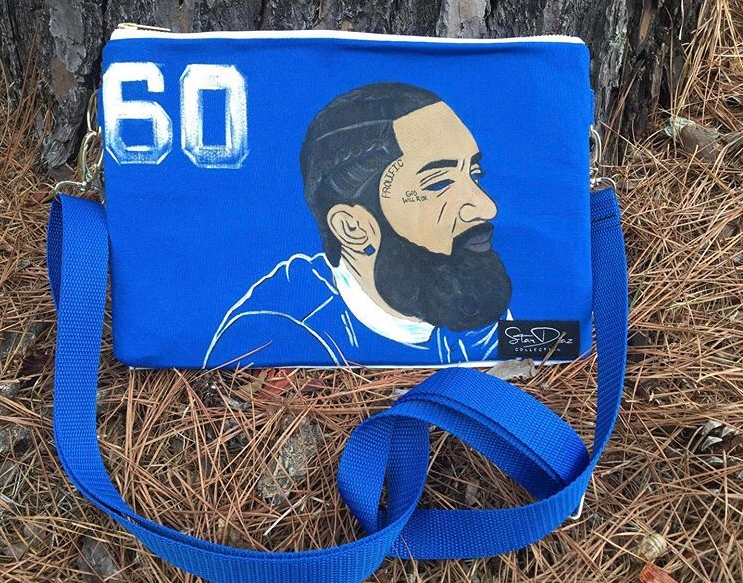 Custom Nipsey Hussle Clutch