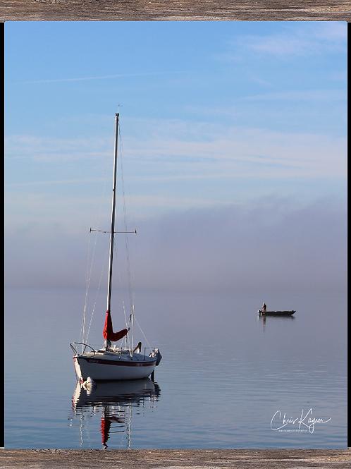 Sailboat & the Fisherman  16 x20