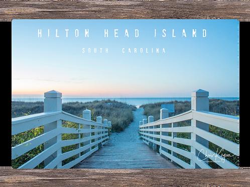 Hilton Head Island (titled) 12 x 8