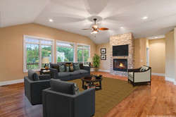 Great Room Virtually Staged