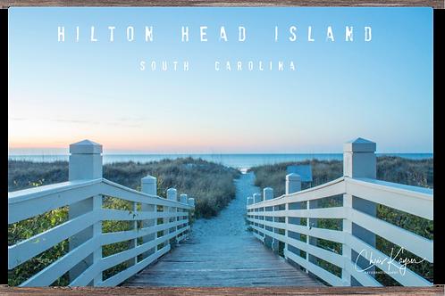 Hilton Head Island (titled) 24 x 16
