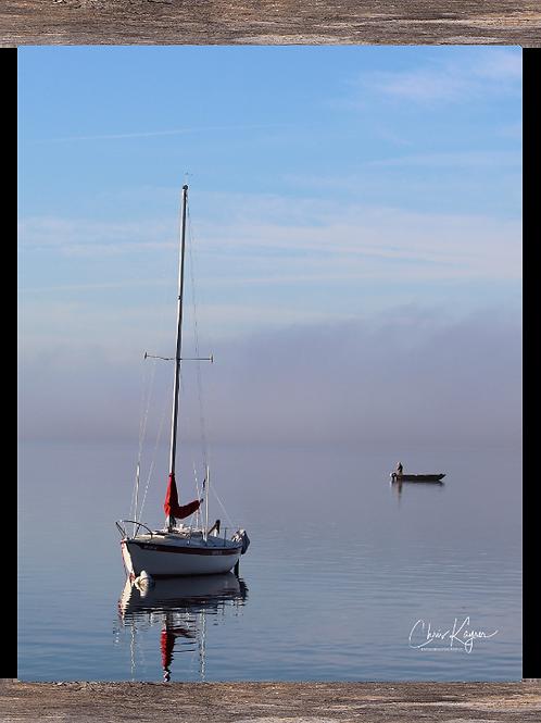 Sailboat & the Fisherman 11x14