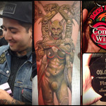 Best Small Color Tattoo San Francisco 2014