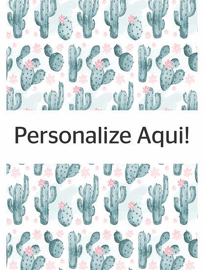 Capa Cactus Floridos