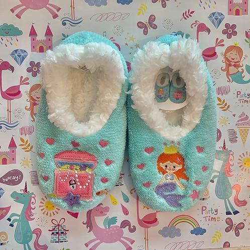 Kids Mermaid Slippers