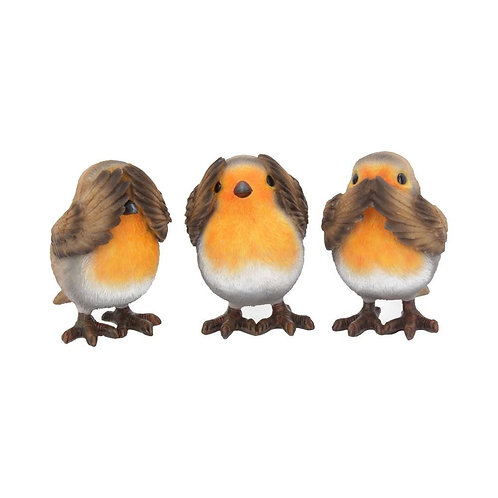 Three Wise Robins (8cm)