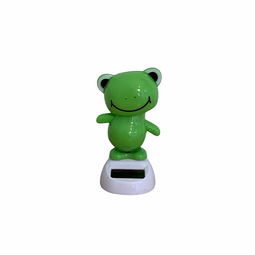 Solar Powered Dancing Froggy