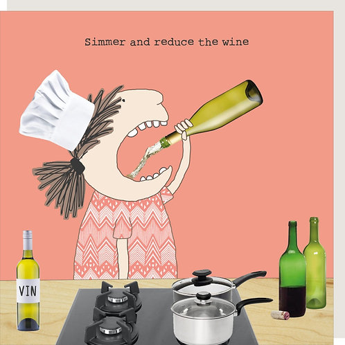 Reduce the Wine Card