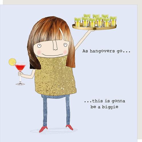 Big Hangover Card