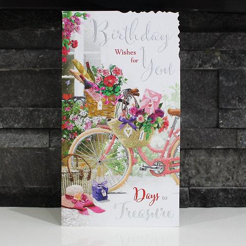 Bicycle Birthday Card