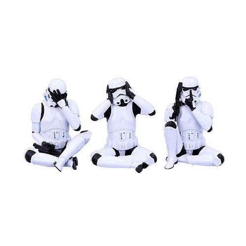 Set of 3 Wise Stormtroopers (each 10cm)