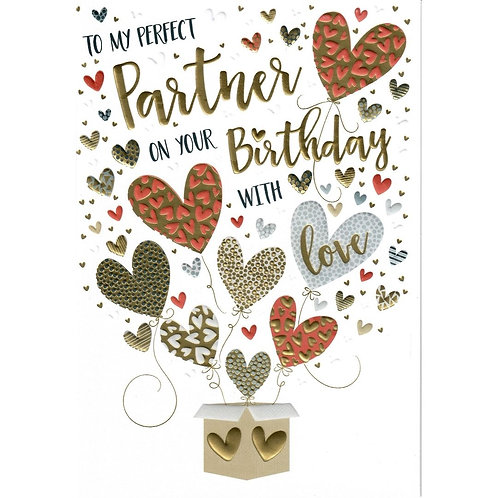 PARTNER Birthday Card