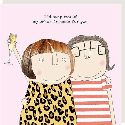 Friend Swap Card